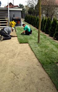 realizacje zakładanie ogrodów Kraków