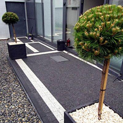 zieleń we wnętrzach, rośliny przed biurem